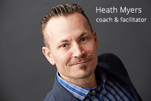 Connect with Heath Myers Agent of Change - Executive Coach Melbourne area